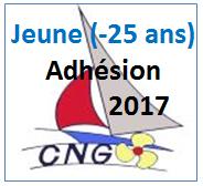 Adhésion Jeune 2017