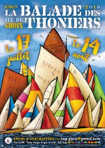 Affiche balade des Thoniers 2018
